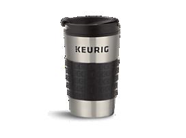Keurig® insulated stainless steel travel mug 12oz