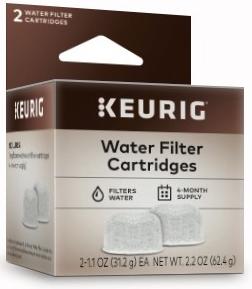2 Water Filter Cartridges