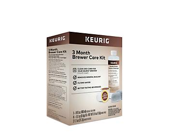 Trousse d'entretien de 3 mois pour cafetière de Keurig®