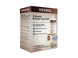 Keurig® 3 Month Brewer Care Kit