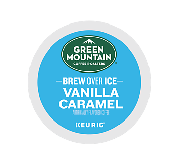 Brew Over Ice Vanilla Caramel Coffee