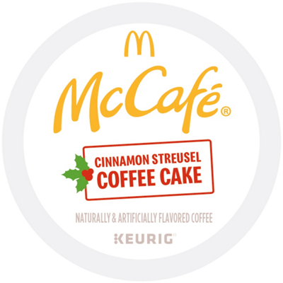 Cinnamon Streusel Coffee Cake Coffee