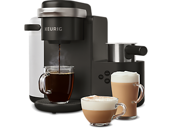 K-Café® Single Serve Coffee, Latte & Cappuccino Maker