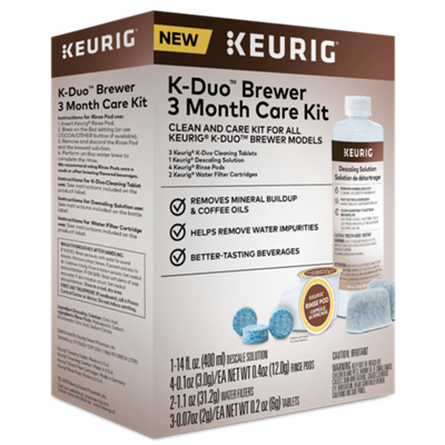 K-Duo™ Brewer 3 Month Care Kit