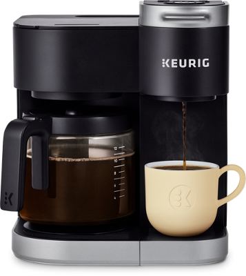 K-Duo® Single Serve and Carafe Coffee Maker