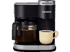 Cafetière une tasse à la fois et à carafe K-Duo®