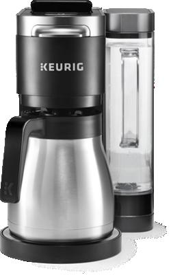Cafetière une tasse à la fois et à carafe K-Duo® Plus