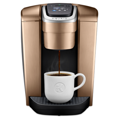 K-Elite® Single Serve Coffee Maker - Brushed Copper