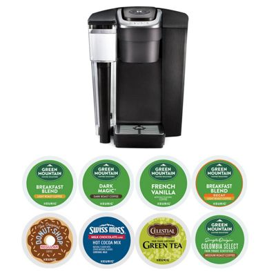 K-1500® Commercial Coffee Maker with 8 K-cup® Pod Boxes Bundle