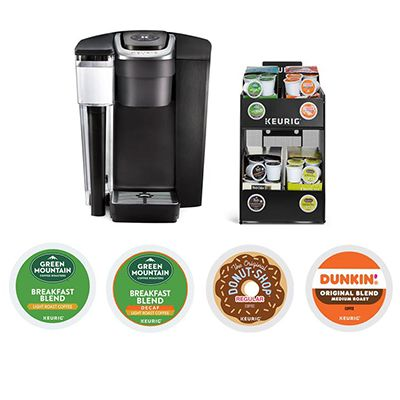 Keurig® K-1500 Commercial Coffee Maker with 4 Boxes K-Cup® Pods Starter Bundle