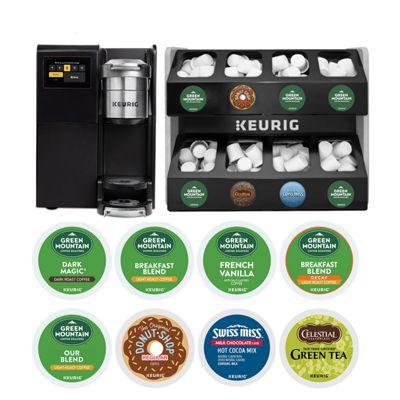 Keurig® K-3500 Commercial Coffee Maker with 8 Boxes K-Cup® Pods Starter Bundle