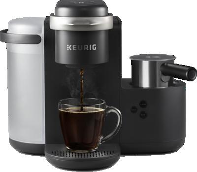 Cafetière et machine à latte et cappuccino une tasse à la fois K-Café®