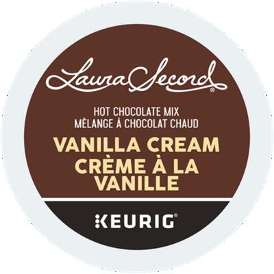 Mélange à chocolat chaud vanille recyclable