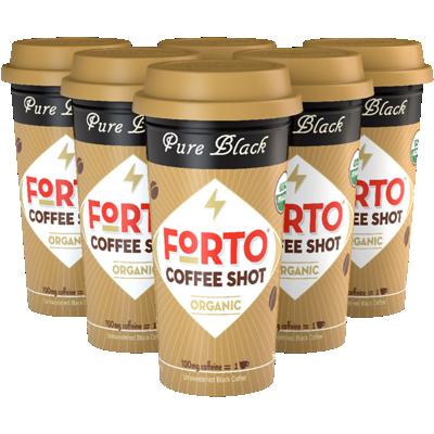 Pure Black Coffee Shot