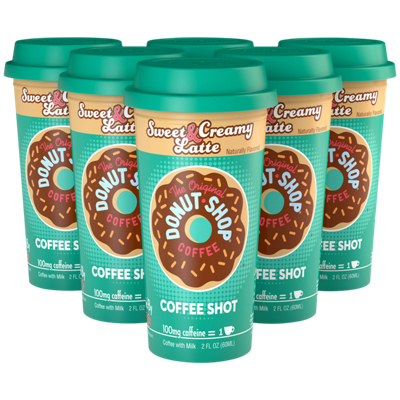 Sweet & Creamy Latte Coffee Shot
