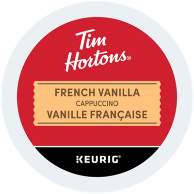 Tim Hortons® French Vanilla Cappuccino Recyclable
