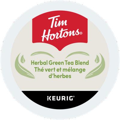 Tim Hortons® thé vert et mélange d'herbes