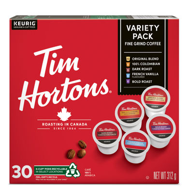 Tim Hortons® Variety Pack Recyclable