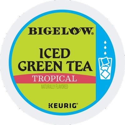 Tropical Iced Green Tea