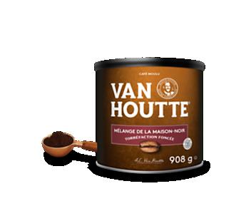 Café moulu mélange maison original noir