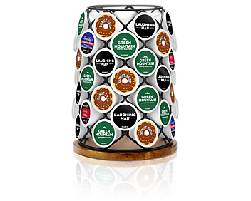 K-Cup® Pod Wood & Wire Carousel