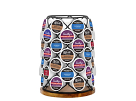 Keurig® Wood And Wire K-Cup® Pod Carousel