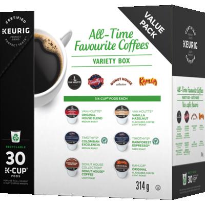 Boîte variée - Vos Cafés Favoris recyclable