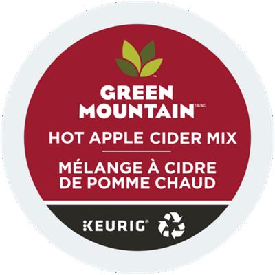 Mélange à cidre de pomme chaud recyclable