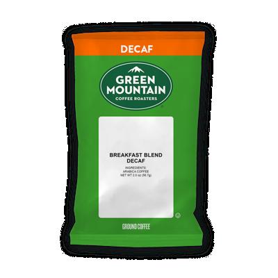 Breakfast Blend Decaf Coffee 2.0 oz (18 bags)