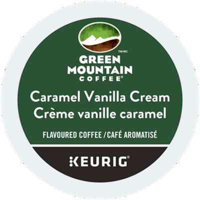 Caramel Vanilla Cream Coffee Recyclable