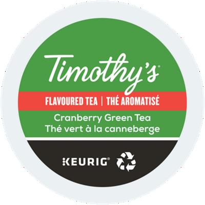 Thé vert aux canneberges Recyclable