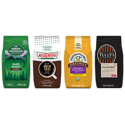 Dark Roast Best Sellers Bagged Coffee Bundle