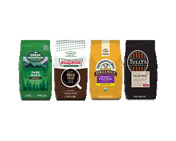 Dark Roast Best Sellers Bagged Coffee Bundle