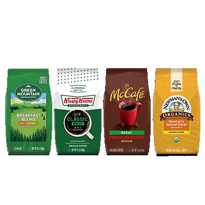 Decaf Best Sellers Bagged Coffee Bundle
