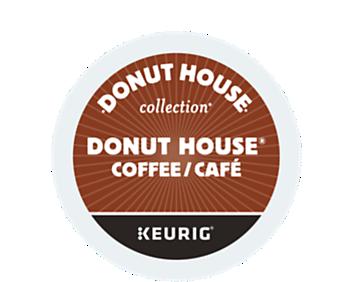 Donut House café régulier torréfaction légère capsule K-Cup® recyclable