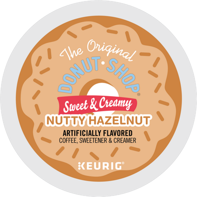 Sweet & Creamy Nutty Hazelnut Coffee, Sweetener & Creamer