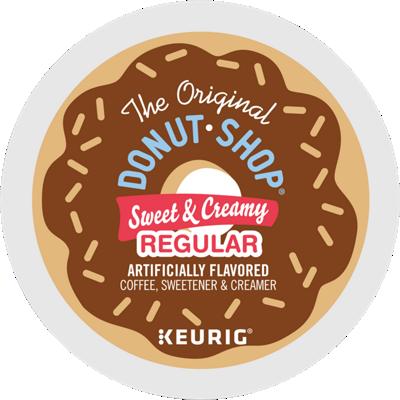 Sweet & Creamy Regular Coffee, Sweetener & Creamer