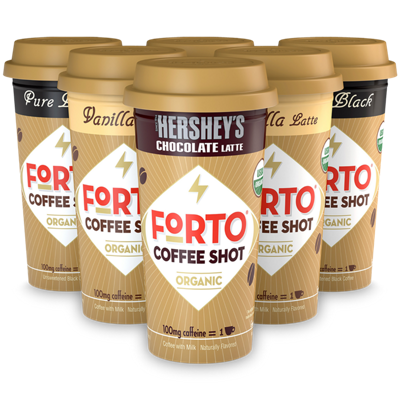 FORTO® Coffee Shots – 100mg Energy Variety Pack