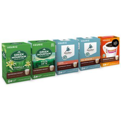 Espresso Roast Beverages Variety Pack