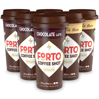 FORTO® Coffee Shots – 200mg Energy Variety Pack