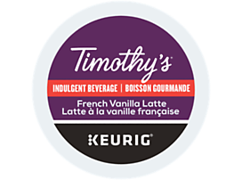 Latté à la vanille française recyclable
