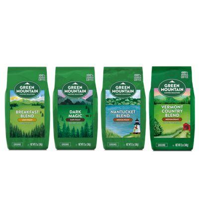 Green Mountain Coffee Roasters® Best Sellers Bagged Coffee Bundle