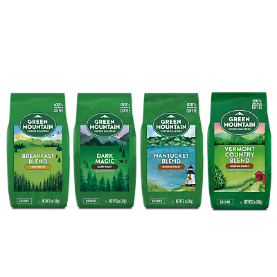 Green Mountain Coffee Roasters® Best Sellers Bagged Coffee Bundle