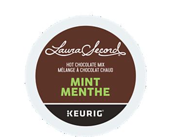 Mélange à chocolat chaud à la menthe recyclable