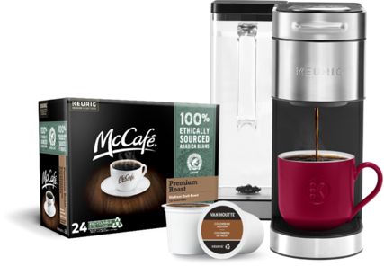 Choose a FREE 24-count with the purchase of a coffee maker▾