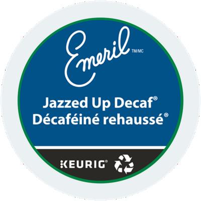 Café décaféiné rehaussé d'Emeril® Recyclable