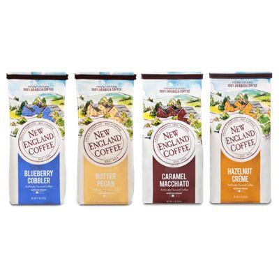 New England® Coffee Best Sellers Bagged Coffee Bundle