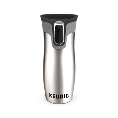 Keurig® 14-oz Stainless Steel Travel Mug