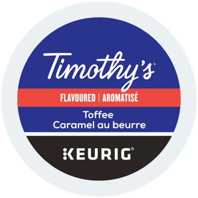 Timothy's® Toffee Coffee Recyclable