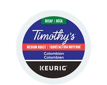 Decaffeinated Colombian Coffee Recyclable